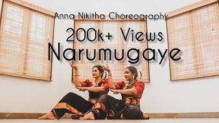 Narumugaye   Dance cover   Anna nikitha choreography   Iruvar