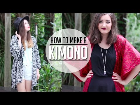 DIY Kimono   An Easy 'How to' Tutorial ✂