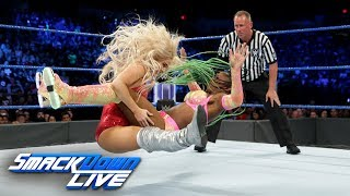 Naomi vs. Lana - SmackDown Women