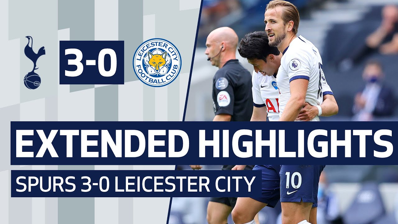 EXTENDED HIGHLIGHTS | Spurs 3-0 Leicester City