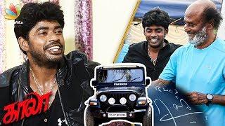 I Got the Kaala Jeep Signed by Rajinikanth  : Sandy Master Interview | Kaala, Rajinikanth | Ranjith