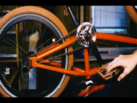 How to Install BMX Cranks