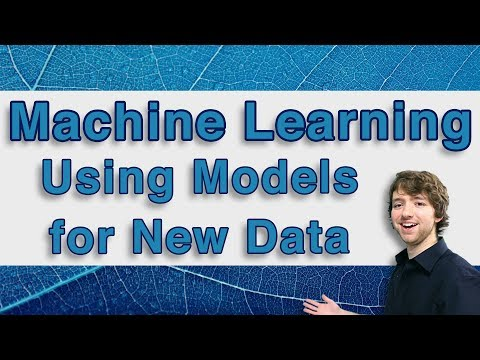Machine Learning and Predictive Analytics - Using Models for New Data - #MachineLearning