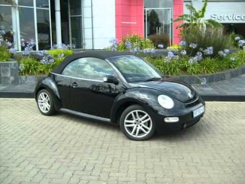 2004 VOLKSWAGEN BEETLE 2.0 CABRIO HIGHLINE Auto For Sale On Auto Trader South Africa