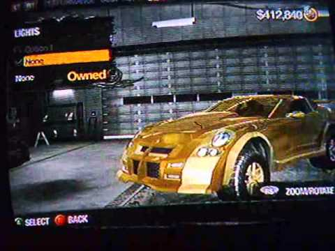 how to make a cool car on saint row 2