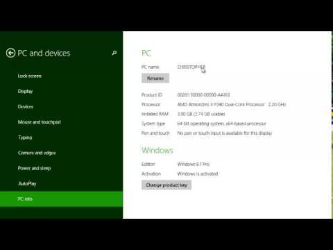 Find Your System Info In Windows 8