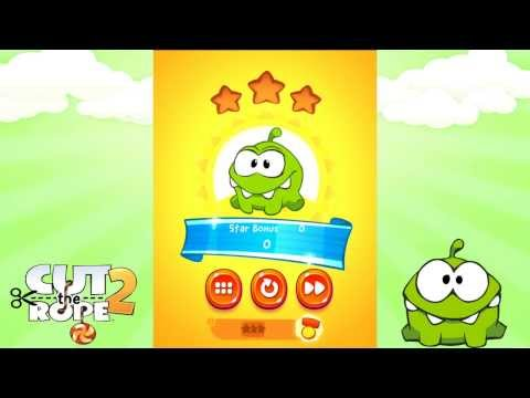 Cut The Rope 2 - Forest - Level 5-20 - Medal Mission Playthrough. (HD)
