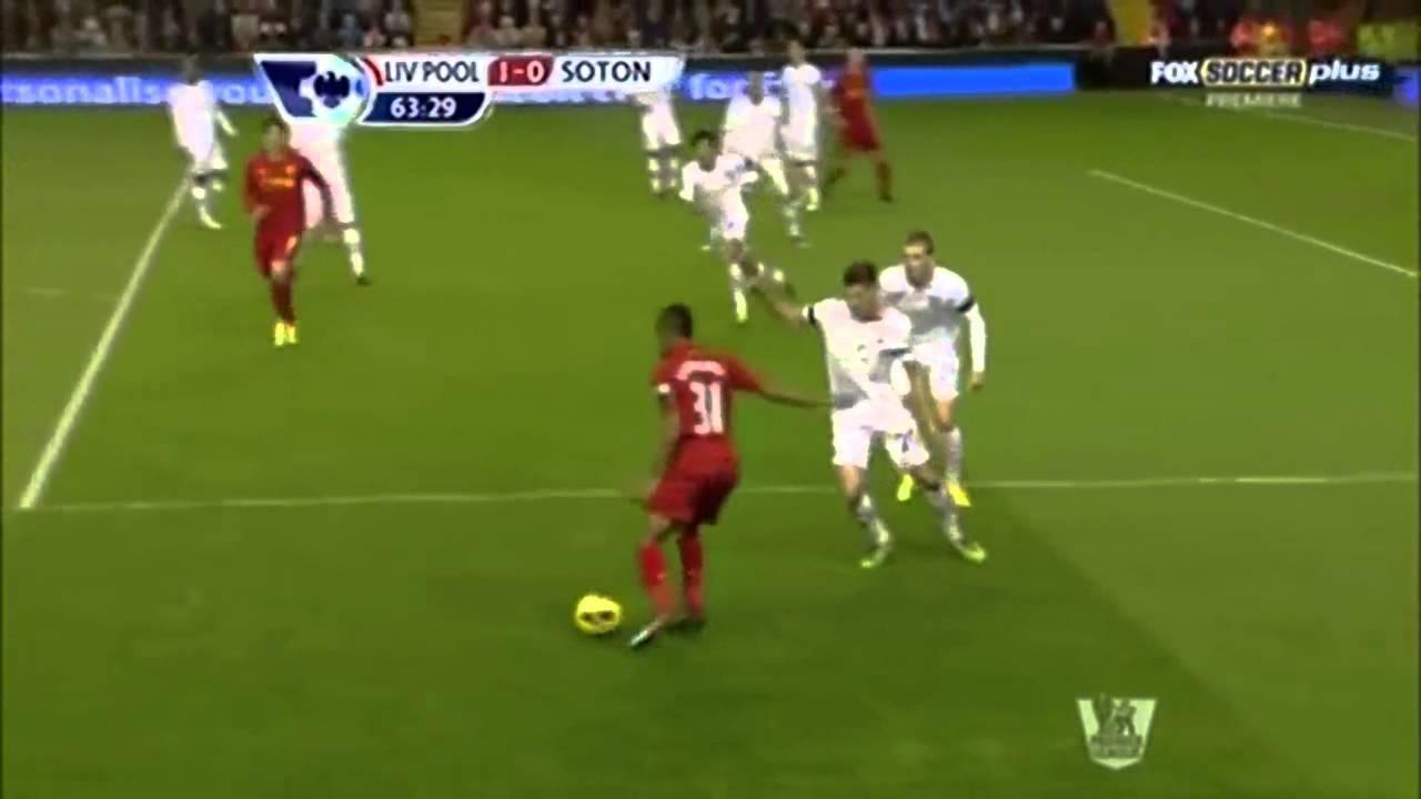 Luis Suarez Skill vs Southampton