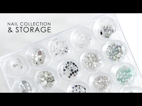 NAIL COLLECTION & STORAGE | 3D Nail Art Decorations