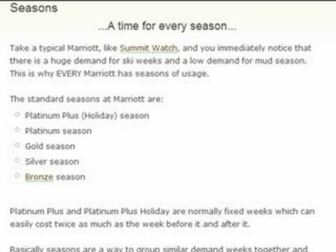 Marriott Timeshares-Work the System