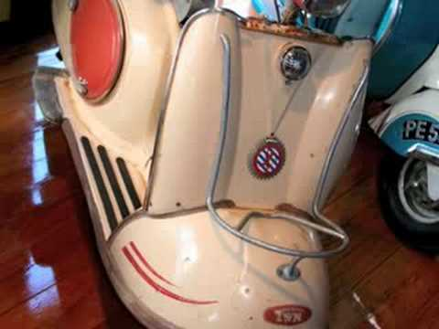 Vintage Scooter Collection on Sale