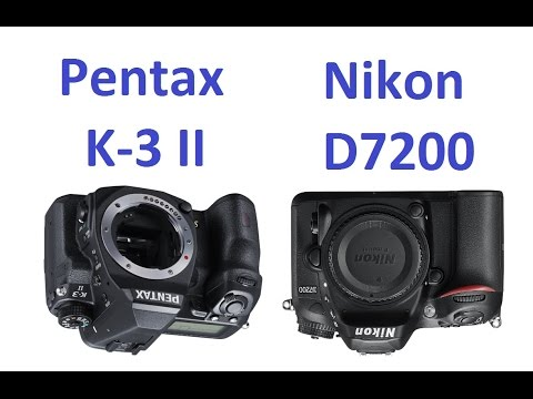 Pentax K-3 II vs Nikon D7200