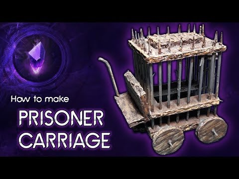 HOW TO MAKE A MEDIEVAL CARRIAGE