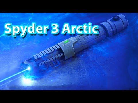Spyder 3 Arctic Laser Pen- Most Powerful Laser Pen 1,000mW