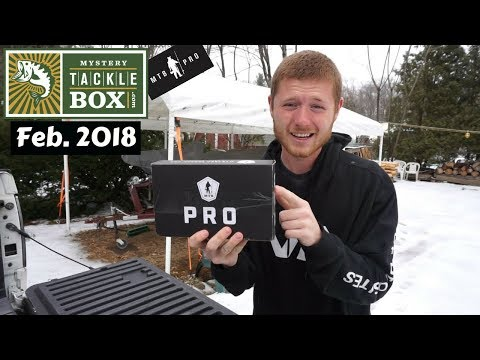Mystery Tackle Box PRO ~ February 2018 Unboxing