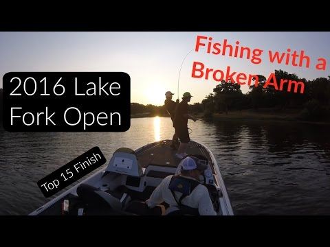 2016 Lake Fork Open High School Tournament (Fishing with a Broken Arm)