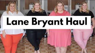 Lane Bryant Spring Plus Size Haul