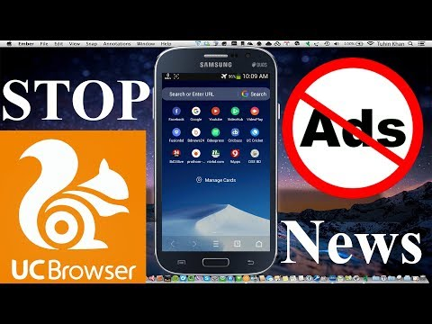 UC Browser Add Problem Solve & How To Disable UC Browser News Notification | Tuhin Fay