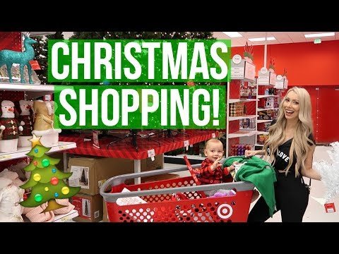 CHRISTMAS DECOR SHOPPING 2017!