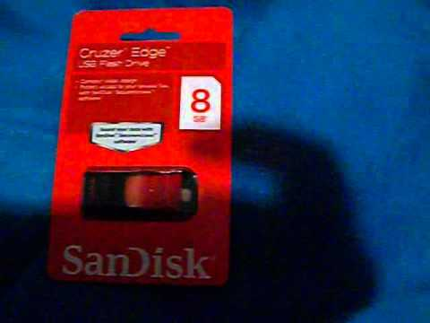 Found a awesome dealy at walmart on 8 gb usb memory thumb drive today.