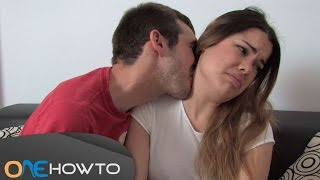 How to kiss a girl on the neck - Step by step