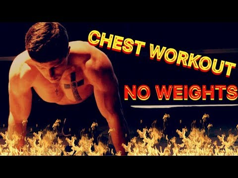 CALISTHENIC CHEST WORKOUT - HOW TO GET A BIGGER CHEST WITHOUT WEIGHTS