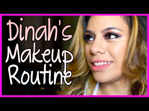 Dinah's MakeUp Routine - Fifth Harmony Takeover