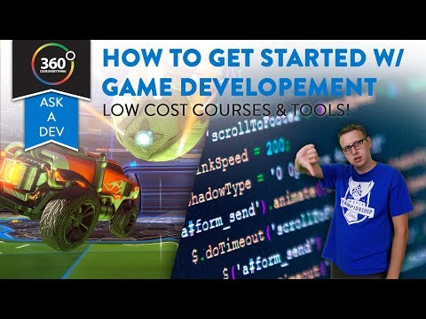 How to Get Started with Game Development | Low Cost Courses, Books and Tools | Ask a Dev