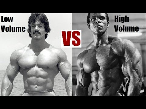 HIGH VOLUME VS LOW VOLUME TRAINING: How To Maximize Muscle Gains?