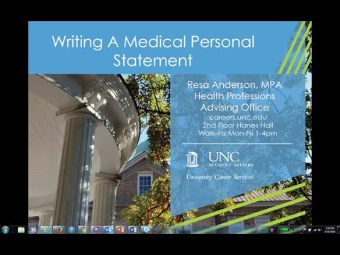 Personal Statement Premed