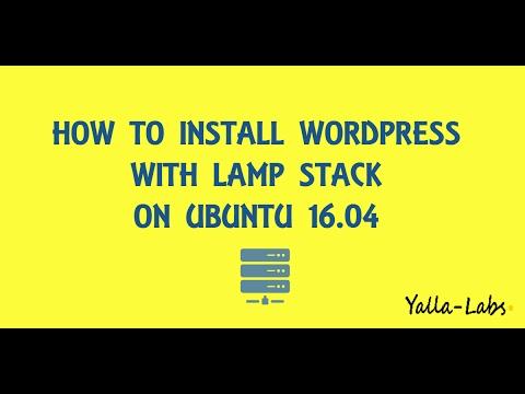 How To Install WordPress with LAMP on Ubuntu 16.04