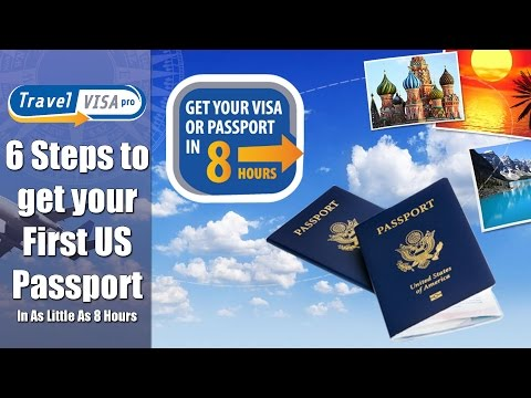 6 Steps to get your US Passport in as little as 8 hours [DS 11 Tutorial]