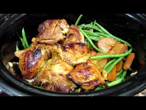 How To Make Crock Pot Honey Garlic Chicken