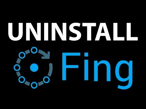 Uninstall completely FING from your Mac/Linux