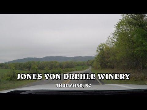 RV Wine: Jones Von Drehle Winery, Thurmond, NC