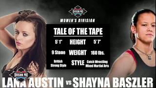 Division Pro: Shayna Baszler vs Lana Austin (Women