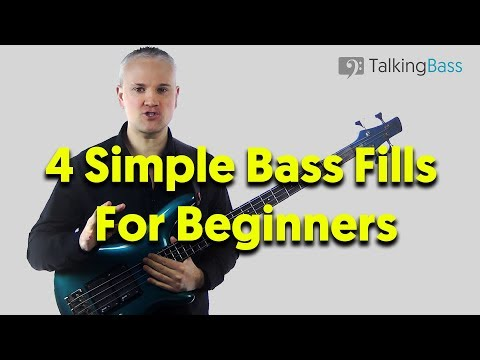 Simple Bass Fills For Beginners