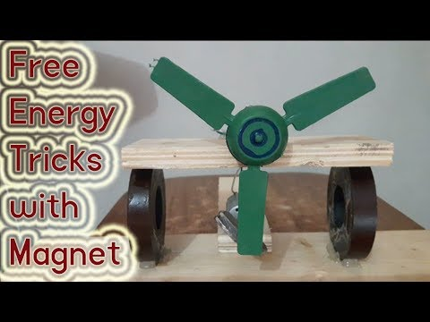 Free Energy Magnets Motor Fan with Tricks | How to make free energy Magnet |  DIY free energy projec