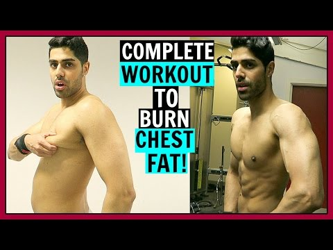 HOW TO LOSE CHEST FAT - FAT BURNING WORKOUT