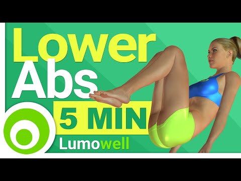 Lower Ab Exercises: 5 Minute Workout to Lose Lower Belly Fat