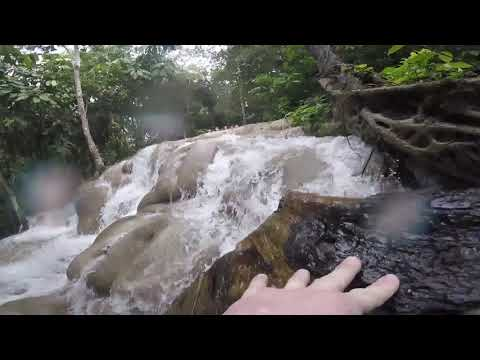 Timelapse of My 2nd Climb up Dunn's River Falls in Ocho Rios, Jamaica