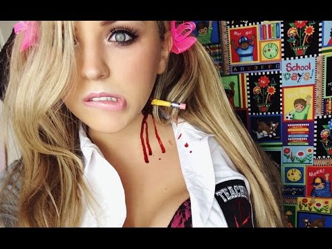 Naughty School Girl Halloween Costume With A Special Twist!