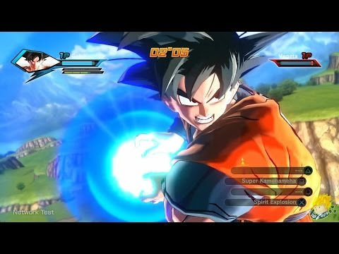 Dragon Ball Xenoverse: Goku Vs Vegeta Gameplay [ENGLISH Online Beta]【FULL HD】