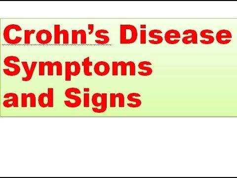 Crohn's Disease Symptoms and Signs