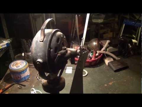 Vintage electric fan restoration