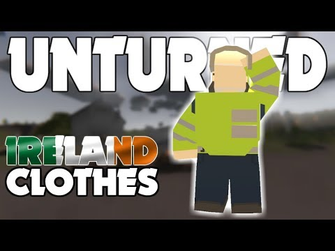 ALL IRELAND CLOTHES! (Unturned)