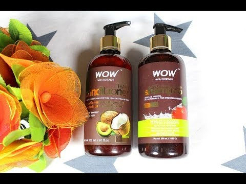 How to choose Shampoo for Colored Hair I Wow Apple Cider Vinegar Shampoo Review