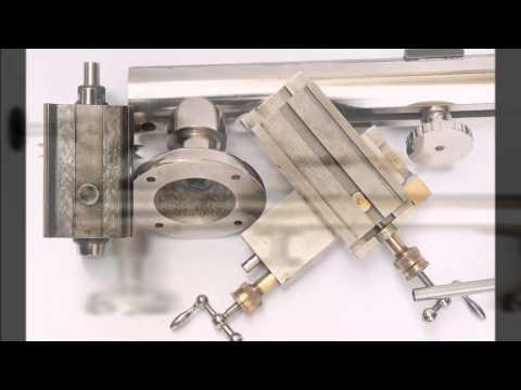 Vintage Wolf Jahn & Cj. 8mm Watchmakers Lathe