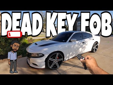 HOW TO START YOUR CAR WITH A DEAD KEY FOB (DODGE, CHRYSLER, JEEP)