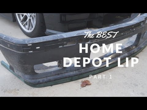 E36 M3 Build- The BEST DIY LIP EVER (Must Watch)